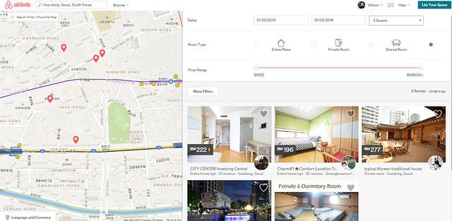 airbnb insadong