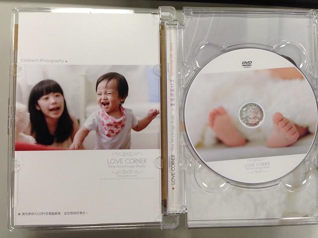 光碟有印刷寶寶的腳丫照@台南愛情街角