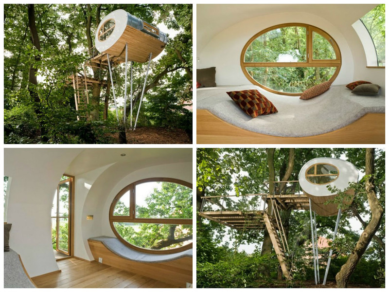 Design and comfortable Tree House