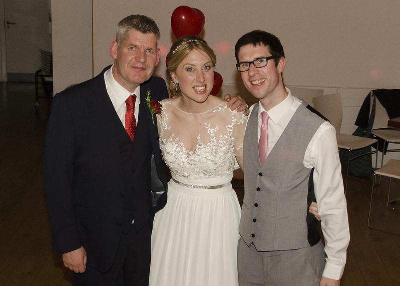 Tony, April and Adam Carr