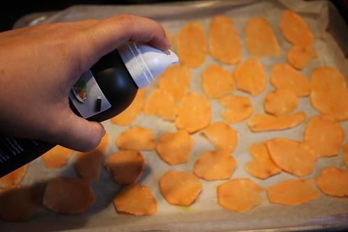 Chips de boniato al horno www.cocinandoentreolivos.com (8)