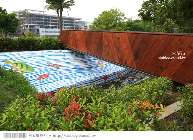 【南科幾米】台南|台積電南科幾米裝置藝術小公園~願望盛開‧許諾之地21
