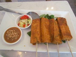 Tofu Satay from Araya's Place (Madison)
