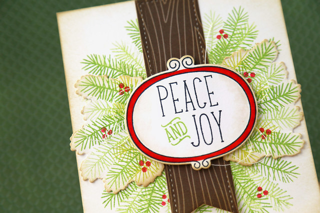peace and joy wreath {lawn fawn october inspiration week}