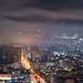 Misty city - San Francisco by davidyuweb