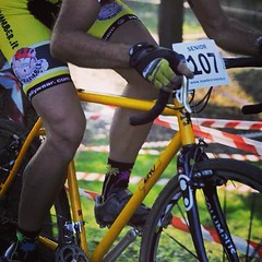 #pushhard at #cx race in Segrate! #zinoframes #mavic #m2 #mquadro #campagnolo #ciaogambe #challengetyres #sgagnamanuber #crossishere