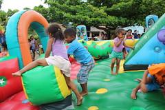 Parque da alegria em novo horizonte em comemoração ao dia das crianças