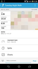 20141020_RunKeeper(Walking)