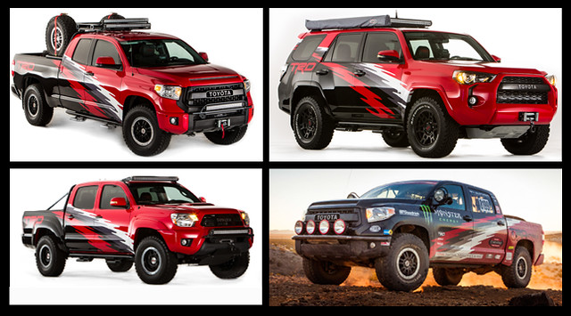 TRD Pro SEMA Lineup from Toyota