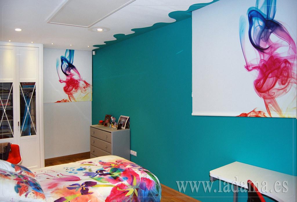 Fotograf as de cortinas juveniles la dama decoraci n - Estores habitacion juvenil ...