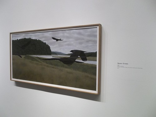 "Alex Colville, ""Seven Crows"" (1981)"