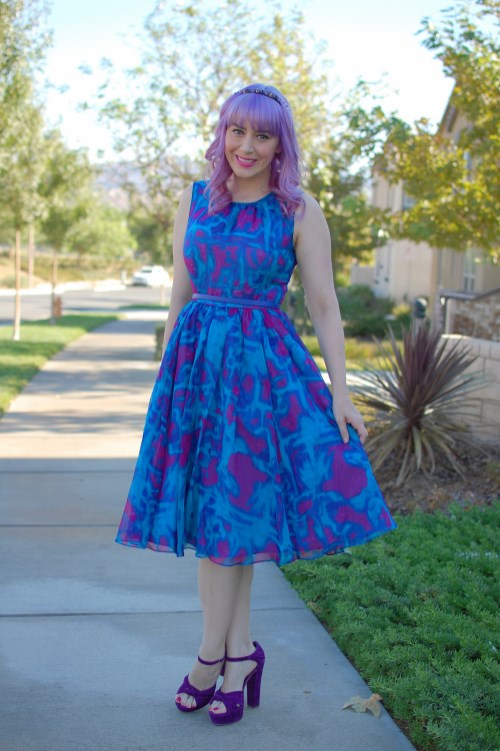 Modcloth Geode Bright On Schedule dress 008