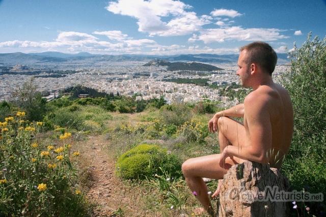 naturist 0002 Alsos Skopeftiriou hill, Athens, Greece