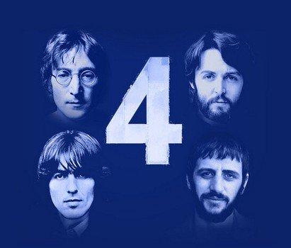 В iTunes вышел бесплатный ЕР «4: John, Paul, George, Ringo»