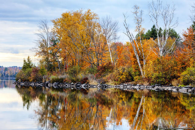 Autumn on Wassookeag