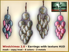 Bliensen - Windchimes 2 - Earrings Kopie