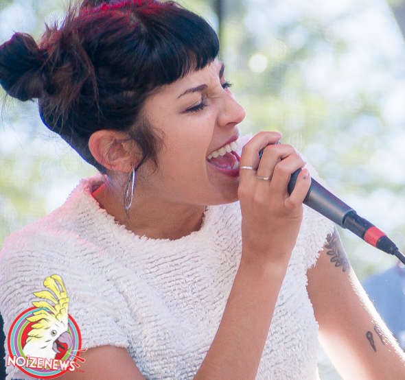 Jessica Hernandez & The Deltas @ Riot Fest Chicago