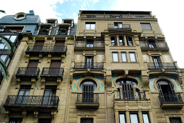 San Sebastián Facades