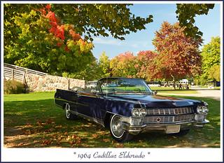 1964 Cadillac Eldorado in the Autumn