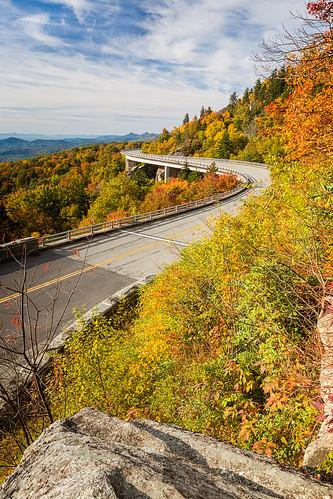 autumn mountains fall classic grandfather northcarolina viaduct parkway vista blueridgeparkway grandfathermountain brp overshot linncoveviaduct ourstate linncove visitnc