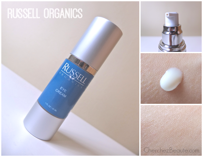Russell Organics Eye Cream Review