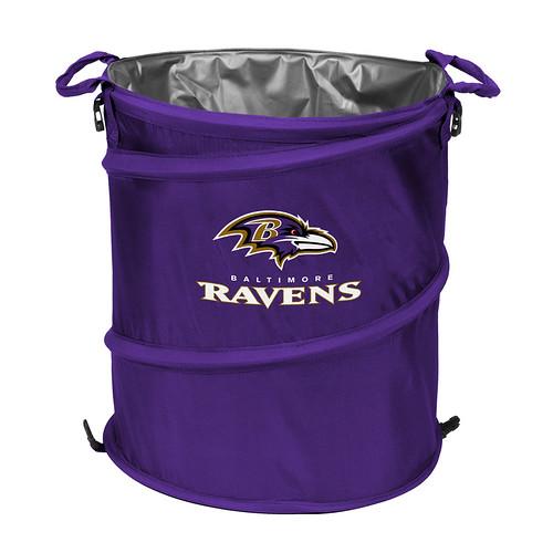 Baltimore Ravens Trash Can Cooler