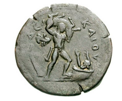 the Calydonian boar coin