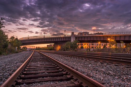 Train Tracks by Geoff Livingston