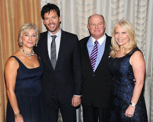 Sherry Jacobson, Harry Connick Jr., ?, Brooke Goodman Cohen==.Ovarian Cancer Research Fund's 20th Anniversary Legends Gala, Hosted by Harry Connick Jr.==.The Pierre Hotel, NY==.November 5, 2014==.©Patrick McMullan==.Photo - Owen Hoffmann/patrick