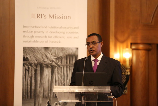 HE Teferra Derebew, Minister of Agriculture, Ethiopia