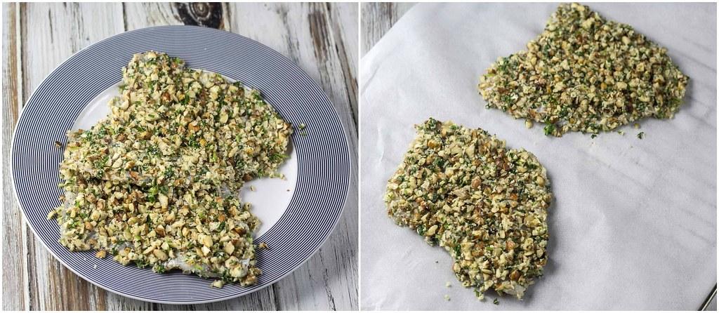 Nøddepaneret slethvar med ovnbagte rodfrugter (madbloggerudfordringen) (25)