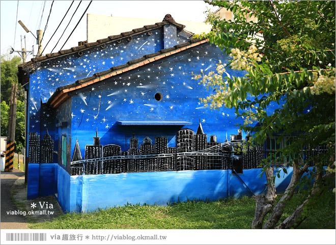 【關廟彩繪村】新光里彩繪村~在北寮老街裡散步‧遇見全台最藝術風味的彩繪村12