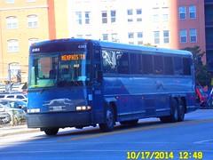 Greyhound Bus Lines (USA): 1999 MCI 102-DL3 (Diesel) #6383