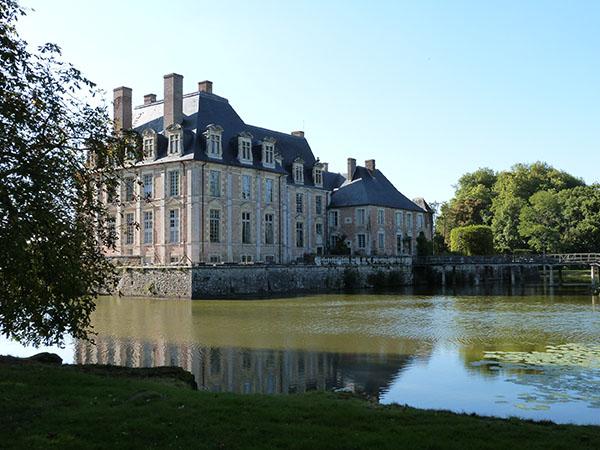arrière du château