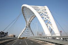 highway, tied-arch bridge, landmark, line, truss bridge, controlled-access highway, overpass, arch bridge, bridge, cable-stayed bridge,