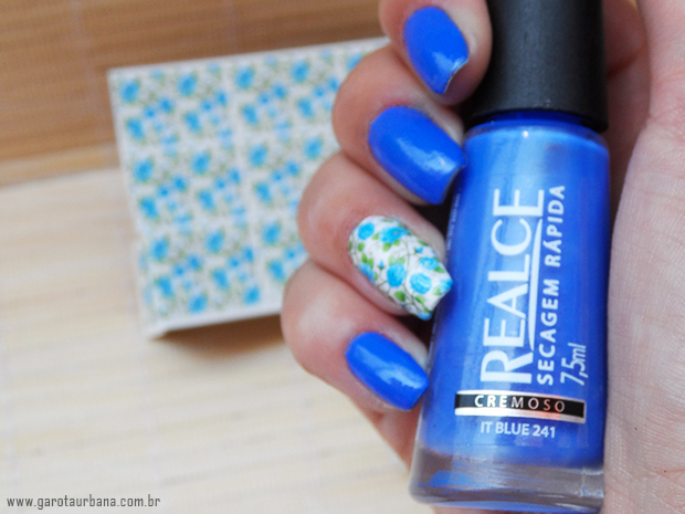Esmalte It Blue Realce  e pel�cula Esmalte Bonito 2