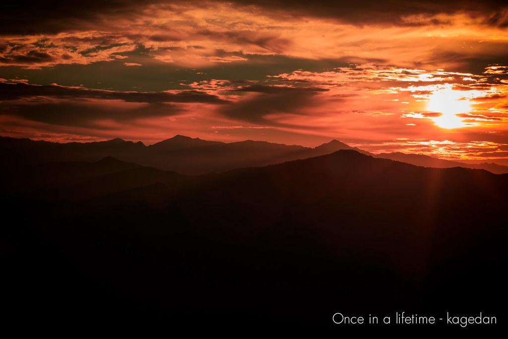太陽の情景