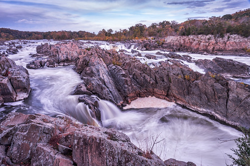 The Great Falls of the Potomac River by Geoff Livingston