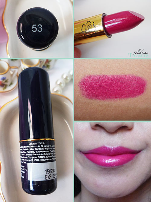 Viva Lipstick | no.53* | SILVER TREASURE