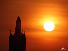 Curtindo um pôr-do-sol