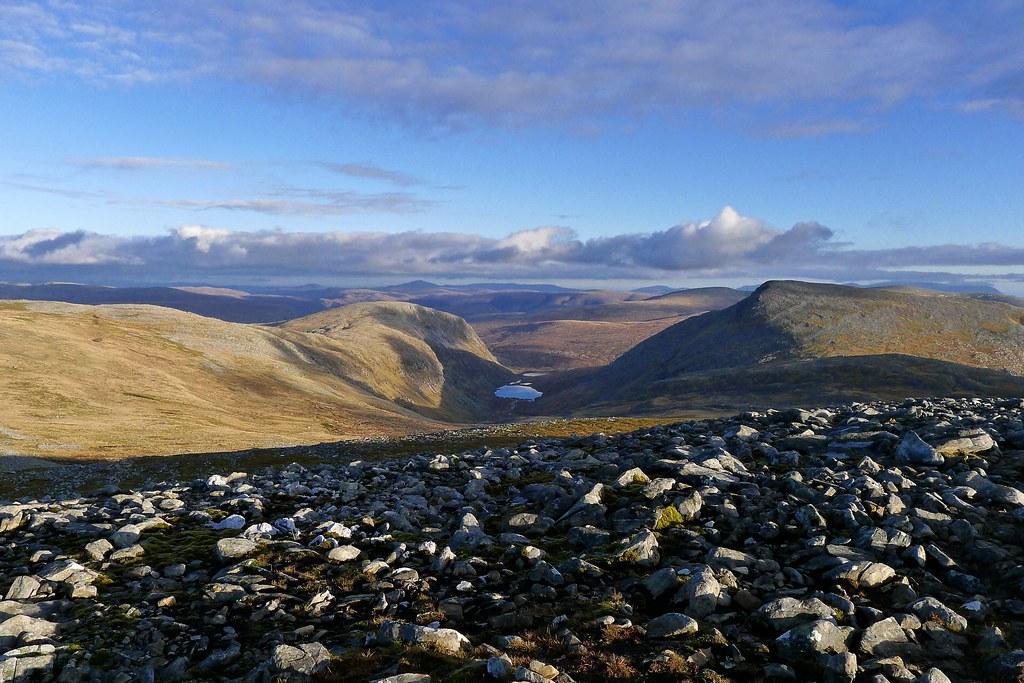 Loch Tuath from Meall nan Ceapraichean