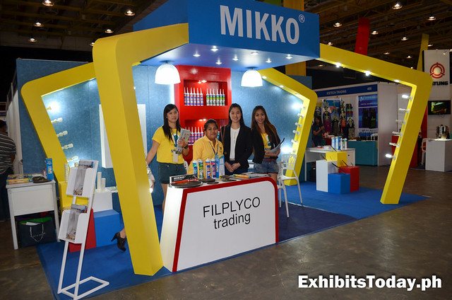 Filplyco Trading Exhibit Booth