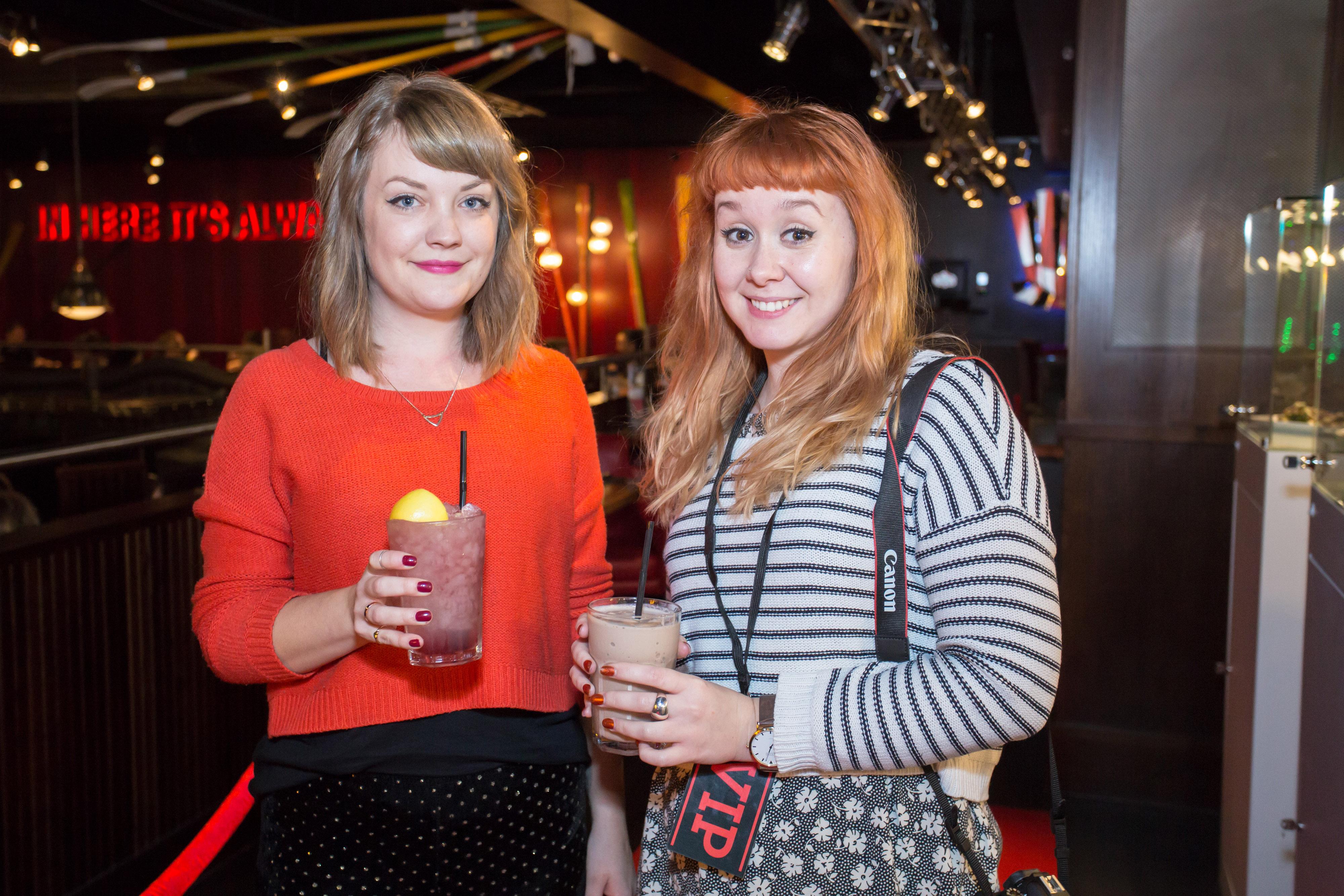 TGI Fridays Bristol bloggers