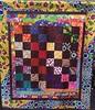 African Merlot, 54x62 inch quilt, 2014