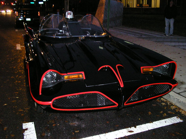 Batmobile front view