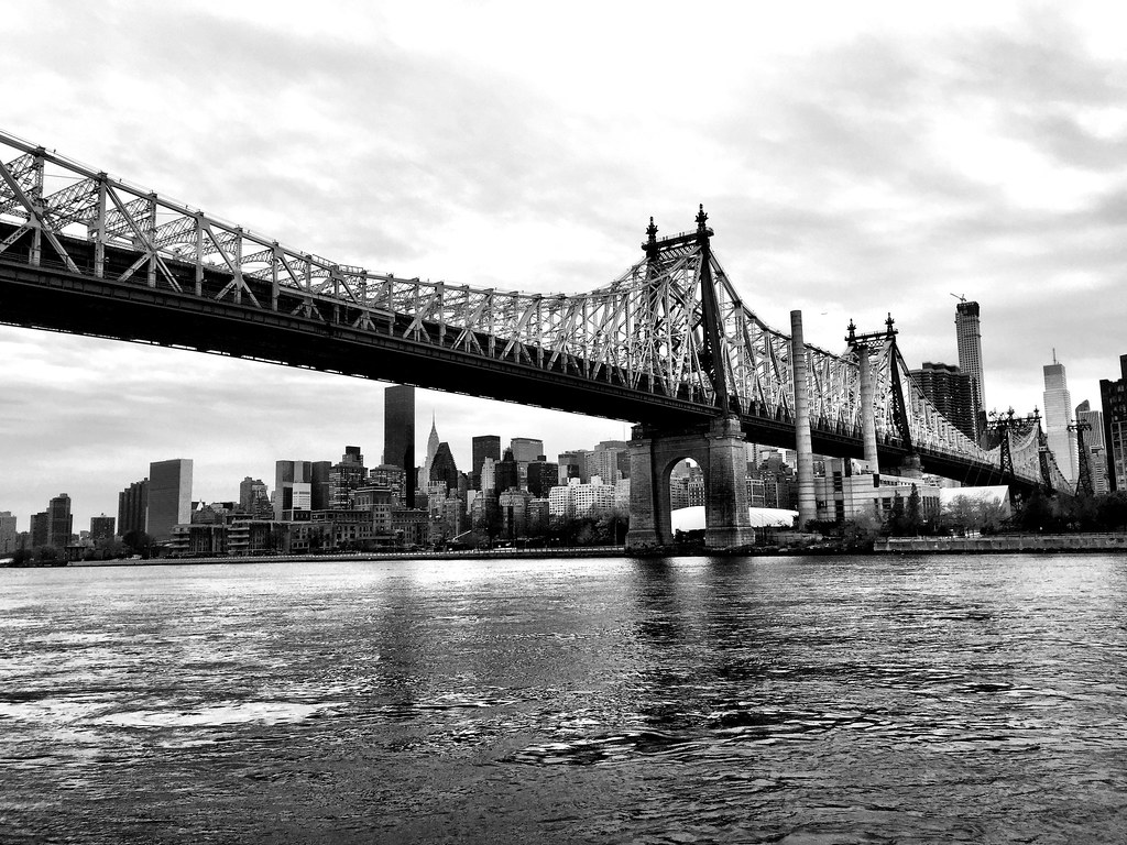 Queensboro #bridge #newyork #ne#nyc #queens #blackandwhite #blackwhite #bw