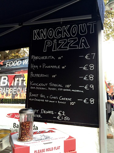 Knockout Pizza of Ballincollig, Co.Cork, Ireland at Guinness Cork Jazz Festival