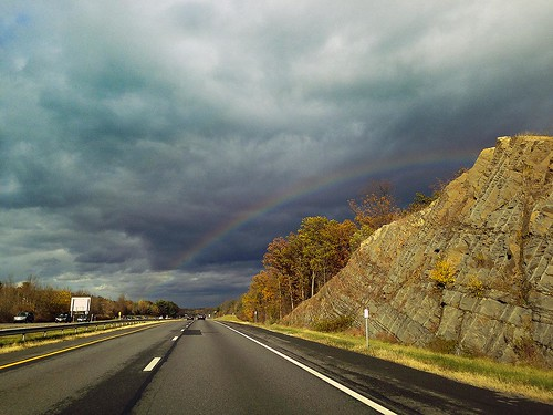 ny landscape rainbow highway upstate newyorkstate october262014 10262014