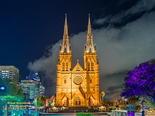 sydney australia newsouthwales saintmarys saintmaryscathedral metropolitancathedralofstmary