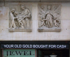 your old gold bought for cash